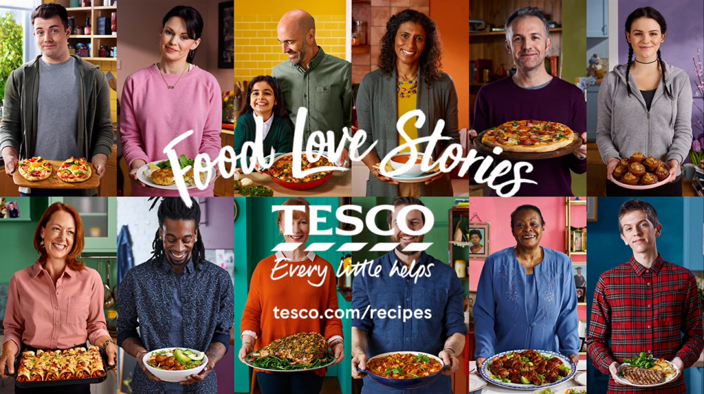 Chiến dịch Food Love Stories của Tesco